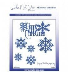 JNDCC003 - Happy Snowflakes dies - Christmas Collection Die - John Next Door