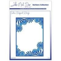 JNDGD008 - Gerbera Background Rectangle - Gerbera Collection - John Next Door