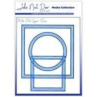 JNDMM005 - Media Plate Square Frame - Media Collection - John Next Door