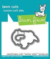 LF1475  S ~ WINTER OTTER ~ DIES BY LAWN FAWN