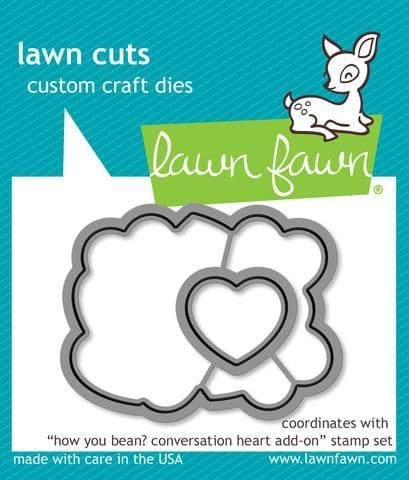 LF1554 S ~ HOW YOU BEAN? ~ DIES BY LAWN FAWN