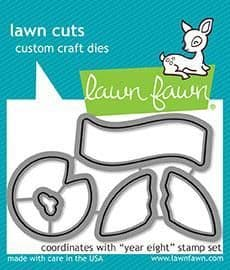 LF1606 S ~ Year Eight ~ DIES BY LAWN FAWN