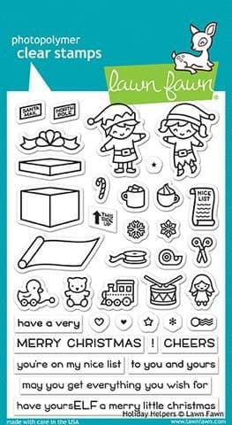 LF1767 ~ Holiday Helpers ~ CLEAR STAMPS BY LAWN FAWN