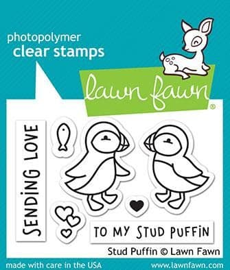 LF2169 S  ~ Stud Puffin ~ CLEAR STAMPS BY LAWN FAWN