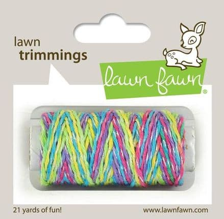 LF2185 ~ Unicorn Tail Sparkle Cord ~ Lawn Trimmings  BY LAWN FAWN