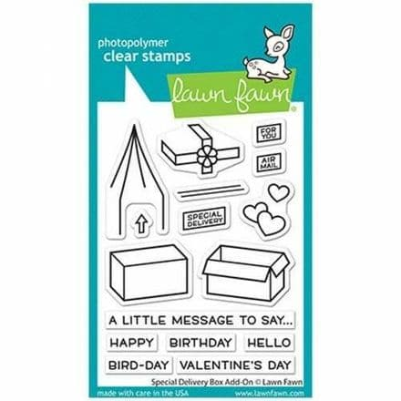 LF2468  special delivery  special delivery box add-on  BY LAWN FAWN