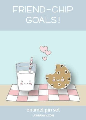 LF2480 ~ Cookies and Milk
