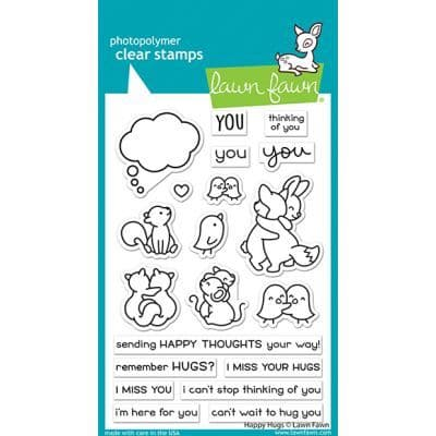 LF2556 - happy hugs - Clear stamps