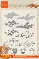 TC0857  Tiny's Autumn (Layering) ~  Marianne Designs Clear stamp