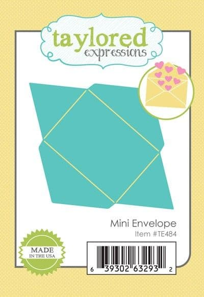 TE484 ~ MINI ENVELOPE ~ dies by Taylored Expressions