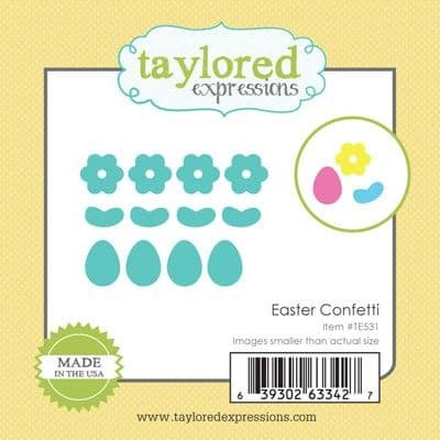 TE531 ~ LITTLE BITS - EASTER CONFETTI ~ dies by Taylored Expressions