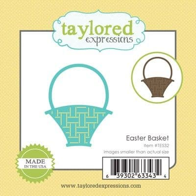TE532 ~ LITTLE BITS - EASTER BASKET ~ dies by Taylored Expressions