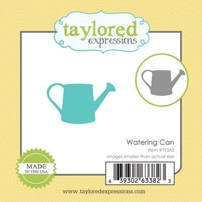 TE565 ~ LITTLE BITS - WATERING CAN ~ dies by Taylored Expressions