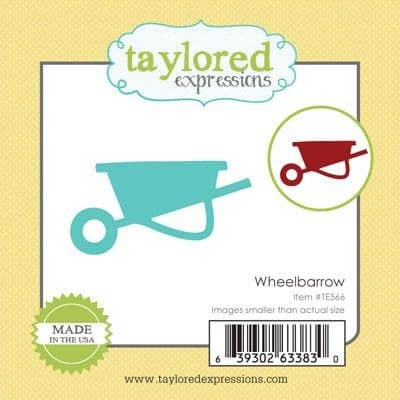 TE566 ~ LITTLE BITS - WHEELBARROW ~ dies by Taylored Expressions