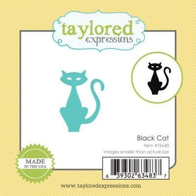 TE640 ~LITTLE BITS - CAT ~ dies by Taylored Expressions