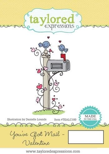 TEALC100 ~YOU'VE GOT MAIL - VALENTINE ~ Taylored Expressions