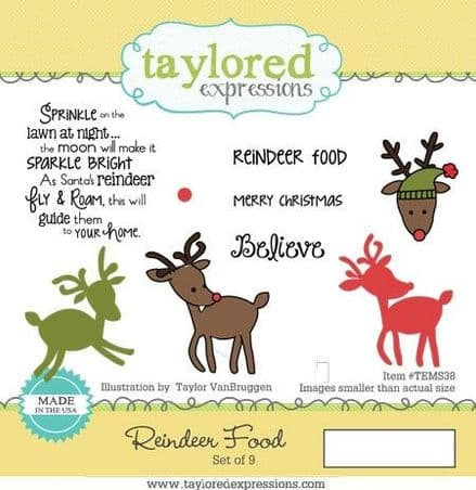TEMS038 ~ REINDEER FOOD ~ Taylored Expressions