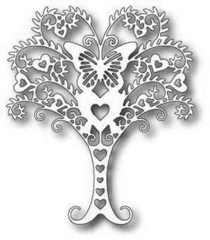 TUTTI-205 ~ WHIMSICAL LOVE TREE ~ TUTTI DESIGNS DIES