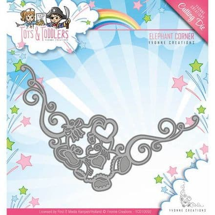 YCD10092 ~ Tots & Toddlers ~ Elephant Corner ~ Yvonne Creations