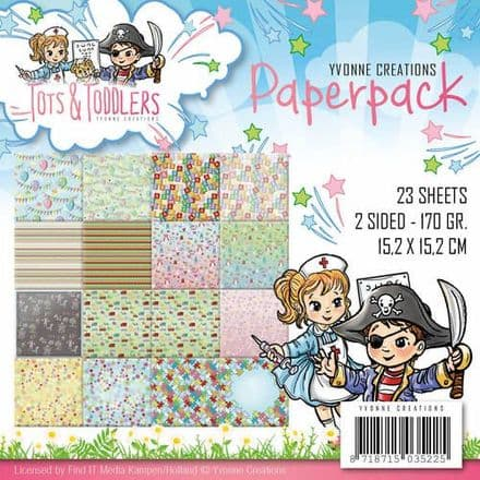 YCPP10012 ~ Tots & Toddlers ~ Paperpack ~ Yvonne Creations