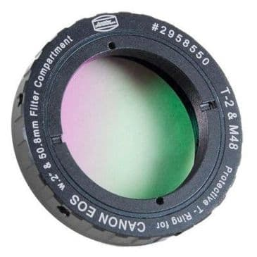 Baader Protective T-Ring For Canon EOS with H-alpha 7nm Narrowband-filter