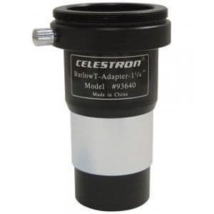 Celestron 1.25 Inch Universal Barlow and T-Adaptor