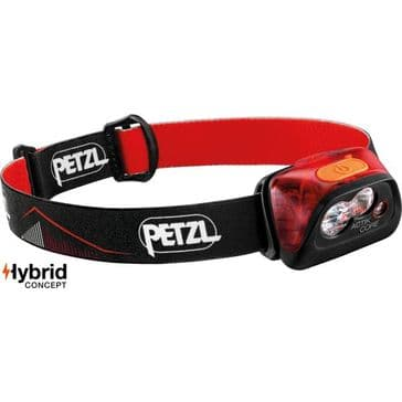 Petzl Actik Core 450 Lumen Headtorch with Astro Friendly Red Light Function
