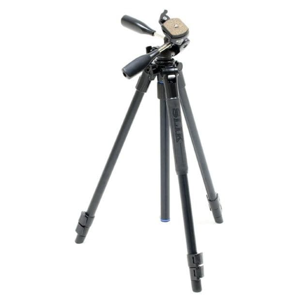 Slik Pro 504QF II Tripod with 504QF II 2-Way Fluid Head
