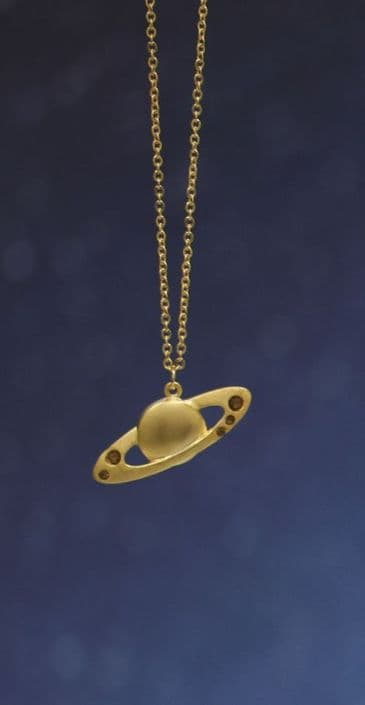 Vixen Sora Jewelry Saturn Necklace