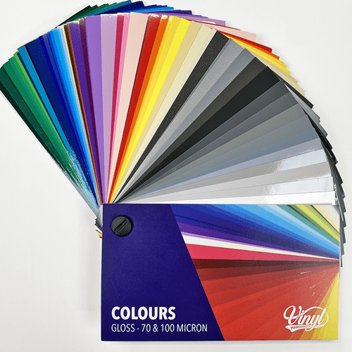 2021 Gloss Colour Swatch Book - 59 COLOURS