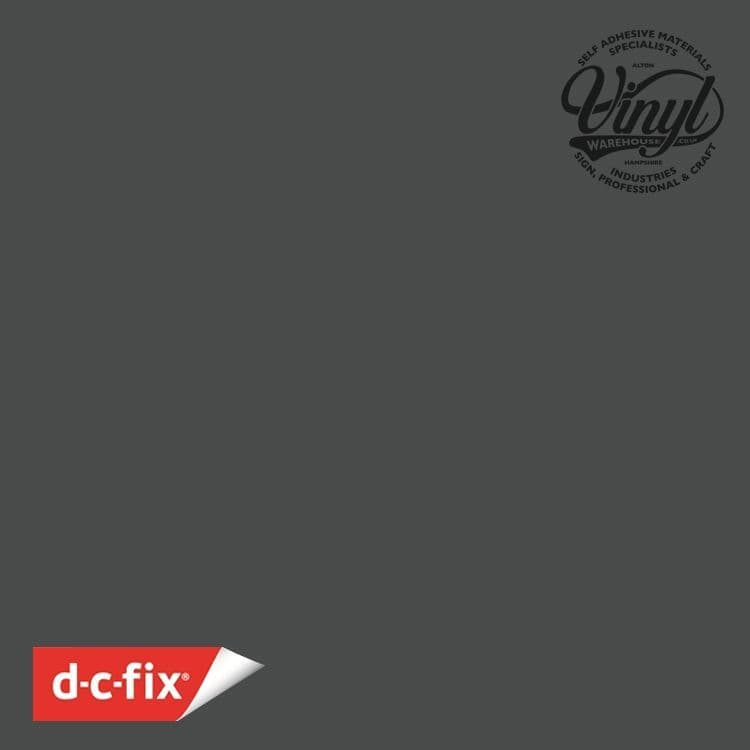 45cm D-C-Fix Matt Anthracite Grey RAL 7012 Sticky Back Vinyl (200-3245) from 1m to 15m
