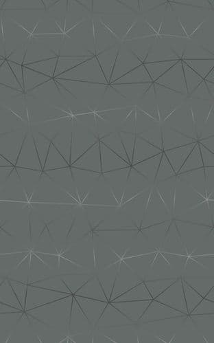 45cm Tico Silver Geometric  Sticky Vinyl Fablon (200-3259) from 1 to 15m long