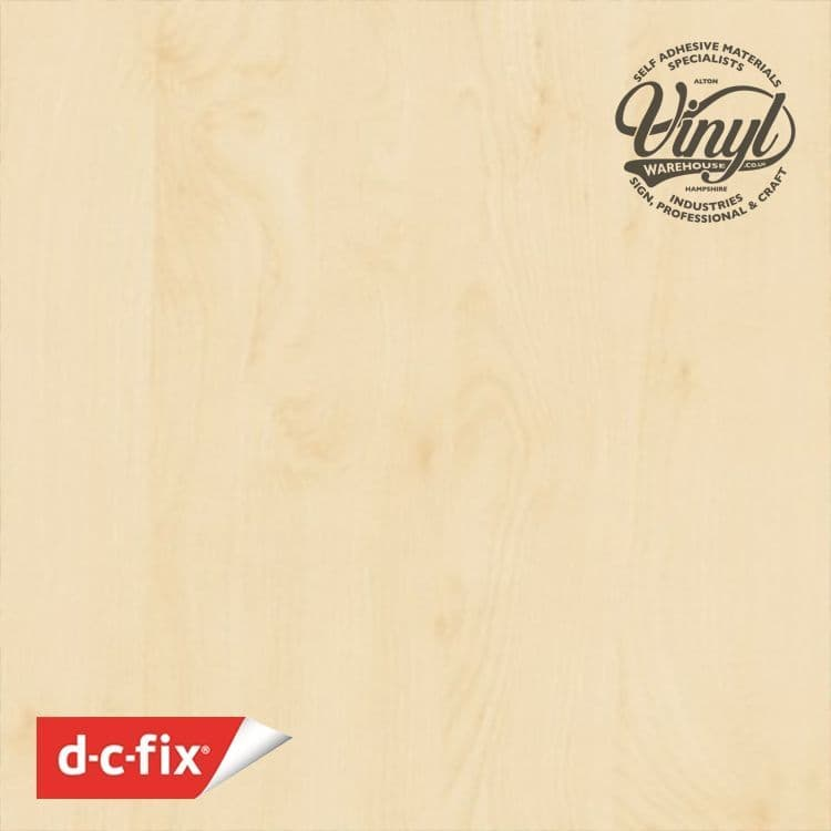 67cm Birch Wood Sticky Backed Vinyl (200-8275) From 1 to 15m Long