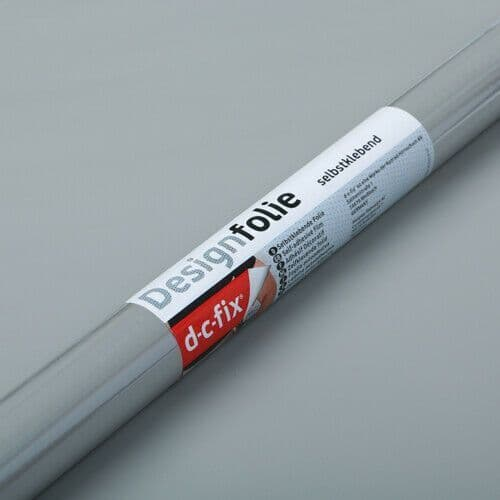 D-C-Fix Matt Grey RAL 7042 Sticky Back Vinyl (346-5370) Extra Large 90cm x 2.1m