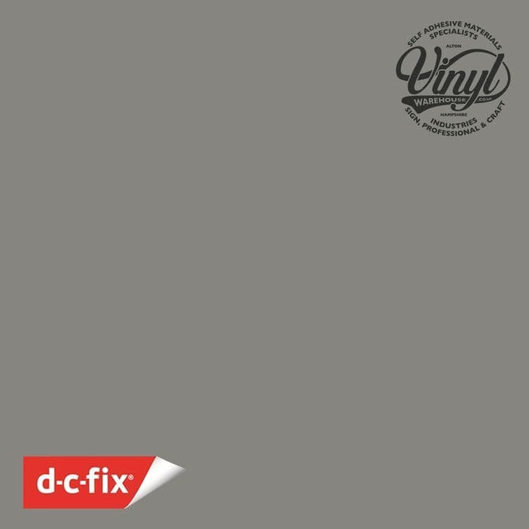 D-C-Fix Matt Grey RAL 7042 Sticky Back Vinyl (346-8111) 67cm x 2m
