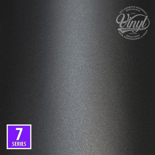 Gloss Graphite Grey 7yr Self Adhesive Sign Vinyl (M7-196) - select your perfect size