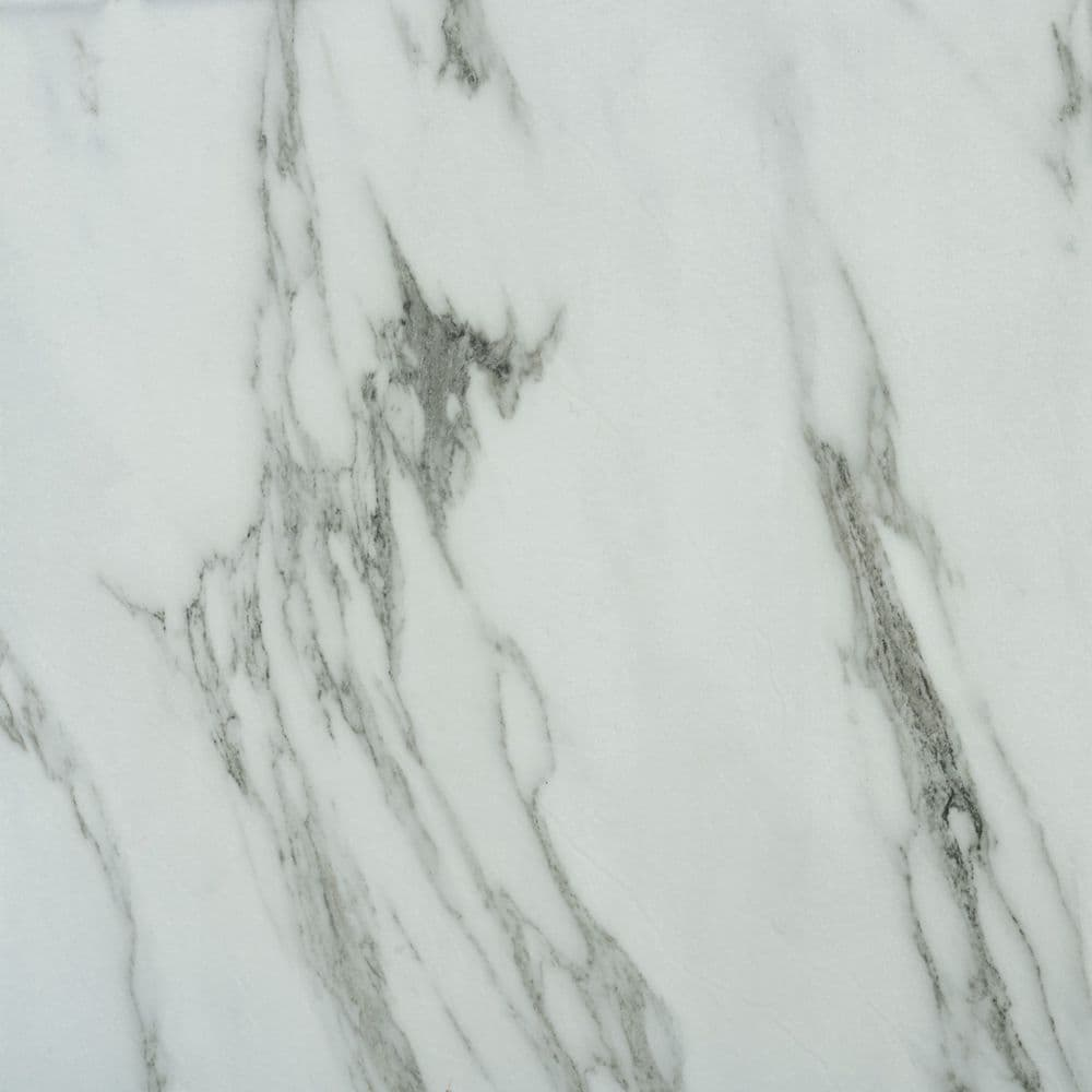 White Marble 5047 - Adhesive Floor & Wall Tiles - 11 tiles (1sqm)